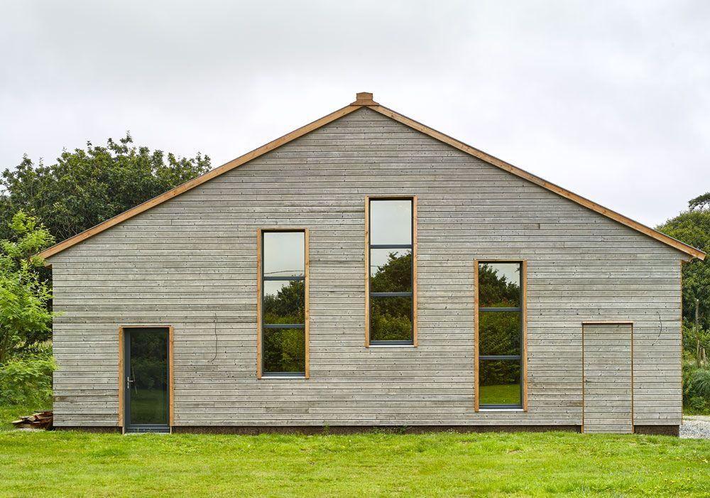 Plounevez : construction ossature bois