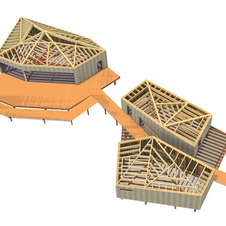 Construction bois et paille - déchetterie