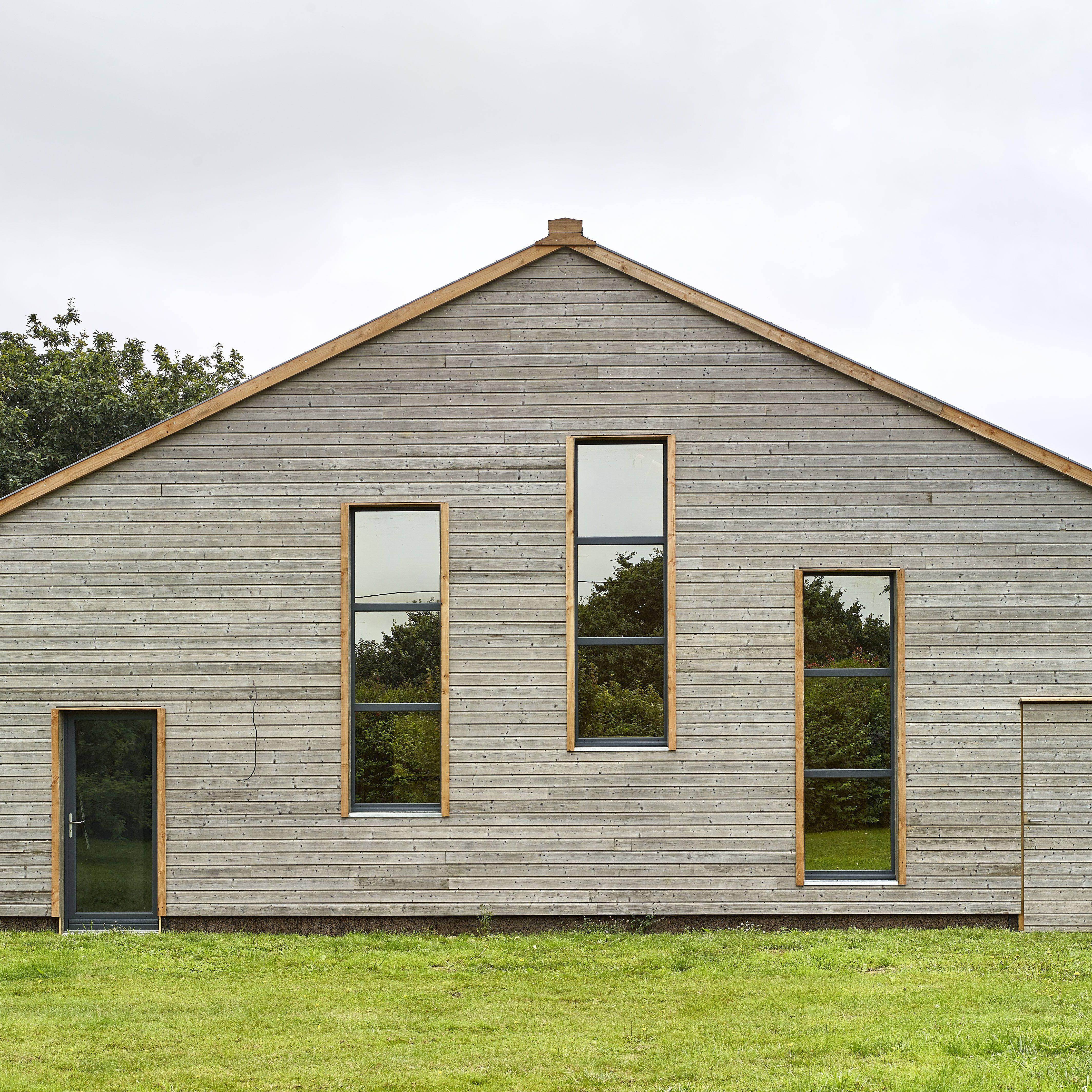 Construction bois et paille à Plounevez