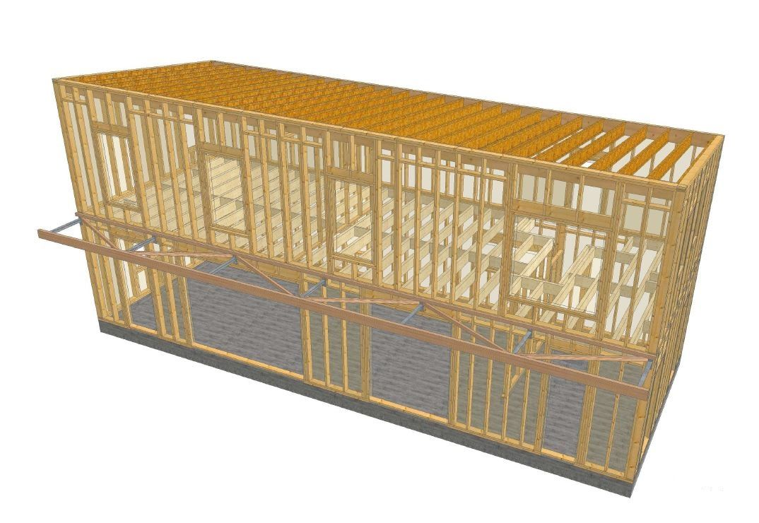 Concarneau construction bois